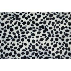 Panterprint zwart wit 110065 0801