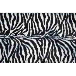 Zebraprint zwart wit 110065 0803