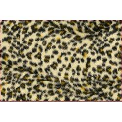 Panterprint ecru bruin en geel 110065 0815