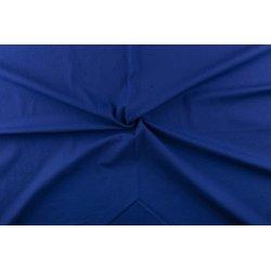 Katoen Twill Stretch uni blauw 02887 005