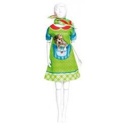 Barbie 29 cm. Twiggy Kitten Jurkje