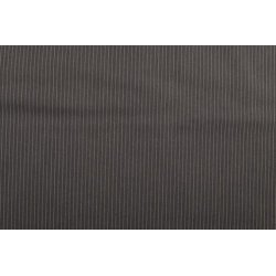 Gabardine met kleine strepen grijs 10271 068