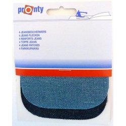 2-stuks  Pronty kniestukken jeans