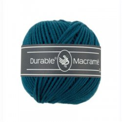 Durable Macrame petrol 010.74 kleur 375
