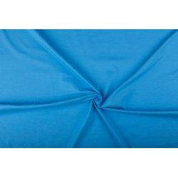 Tricot Uni Katoen/Elastan blauw 002