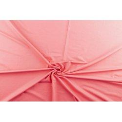 Tricot Uni Katoen/Elastan roze 014