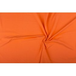 Tricot Uni Katoen/Elastan oranje 136