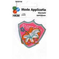 Applic. PARADISE-bloem-wapen