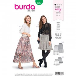 Burda 6357 rok Super Easy