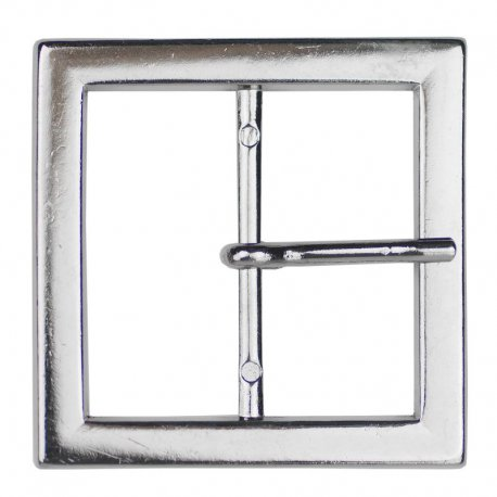 Gesp vierkant metaal goud of zilver 40 of 50 mm