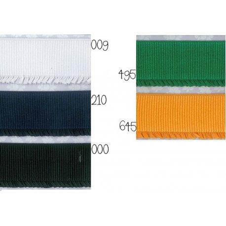 Ruche Elastiek 6 cm breed in 5 kleuren