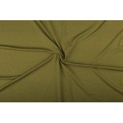 Tricot/Jersey Viscose Elastan Uni groen 02194 326
