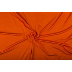 Tricot/Jersey Viscose Elastan Uni oranje 02194 836