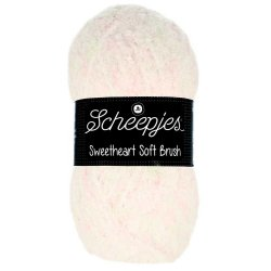 Sweetheart Soft Brush Scheepjes Groen Roze Wit 534