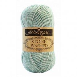 Stone Washed. Pendikte 3-3,5 mm. Kleur 828 Larimar Scheepjeswol