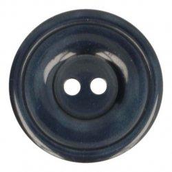 Knoop Bottoni Italiani 4348 210 blauw keuze uit 6 groottes