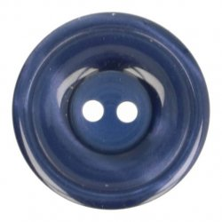 Knoop Bottoni Italiani 4348 223 blauw keuze uit 5 groottes