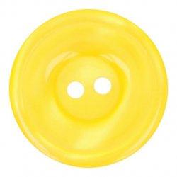 Knoop Bottoni Italiani 4348 642 geel keuze uit 5 groottes