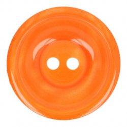 Knoop Bottoni Italiani 4348 693 oranje keuze uit 5 groottes