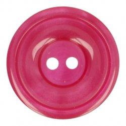 Knoop Bottoni Italiani 4348 791 rood keuze uit 5 groottes
