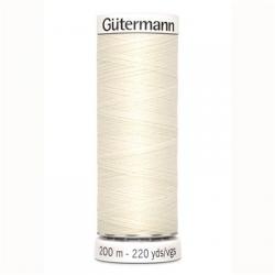 Alles naaigaren Gutermann 200 mtr. ecru
