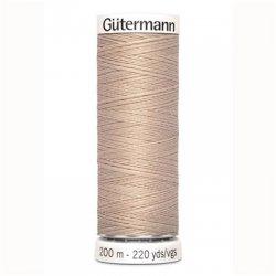 Alles naaigaren Gutermann 200 mtr. kleur 121 bruin
