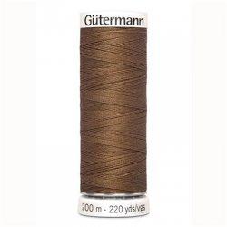 Alles naaigaren Gutermann 200 mtr. kleur 124 bruin