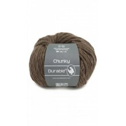 Durabel Chunky 2230 Dark Brown 100% scheerwol