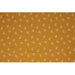 Baby Katoen met Veer 11253 geel 034