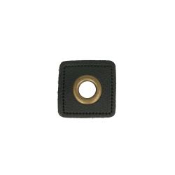 Nestels brons op Skai-leer zwart 8-11 of 14 mm