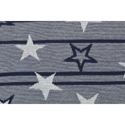 Tricot met sterren en strepen dessin 119 14
