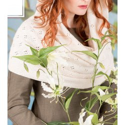 Gratis Geprint Patroon Springtime Hooded Cowl - breipatroon