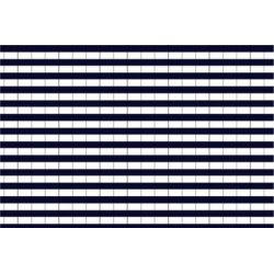 Gestreepte Tricot katoen 10625 blauw 008