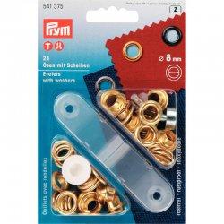 Prym Ring ook oogjes genoemd  Goud keuze 5-8-11 of 14 mm