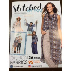 Modeblad Stitched By You Lente Zomer 2017