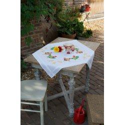 Tafelkleed kit Kippenfamilie  PN-0150558