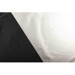 Verduisterings doek voor gordijn wit  zwart 07600 069