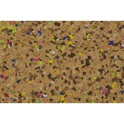 Kurk of Kurkleer met kleurtjes  129381