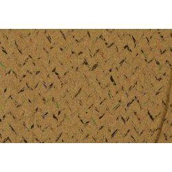 Kurk of Kurkleer met kleurtjes V-motief 129383