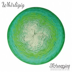 Scheepjes Whirligig 1x450g - 207 Green to Blue