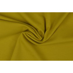 Organic Katoenen Jersey Uni 129322 5010 geel