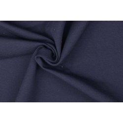Organic Katoenen Jersey Uni 129322 5026 blauw