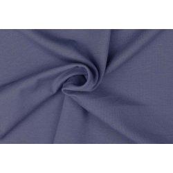 Organic Katoenen Jersey Uni 129322 5028 blauw