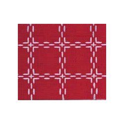 Beiersbont 5420 rood/wit 160 cm