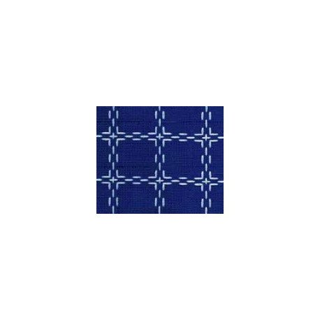 Beiersbont 5421 blauw/wit 160 cm