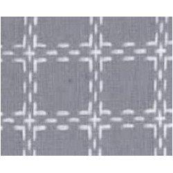 Beiersbont 5473 grijs/wit 160 cm