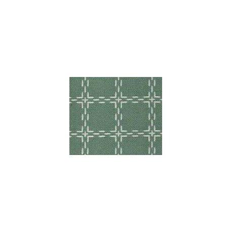 Beiersbont 5469 groengrijs/ivoor 160 cm