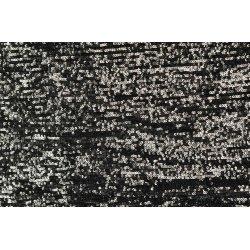 Jersey met Pailetten 130778 zwart grijs 5002