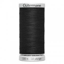 Gütermann SuperSterk 100meter Zwart kleur 000