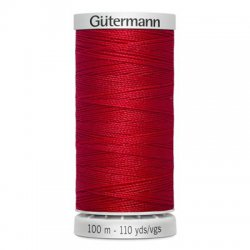 Gütermann SuperSterk 100meter rood kleur 156